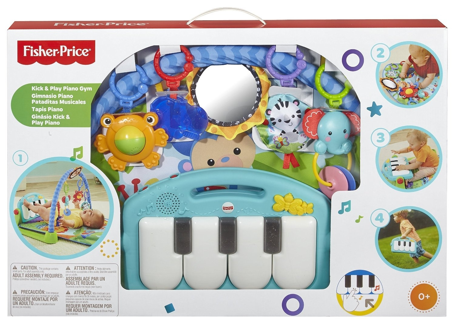 Buy Fisher Price Kick Play Piano Gym Shop Online In Nepal Baby