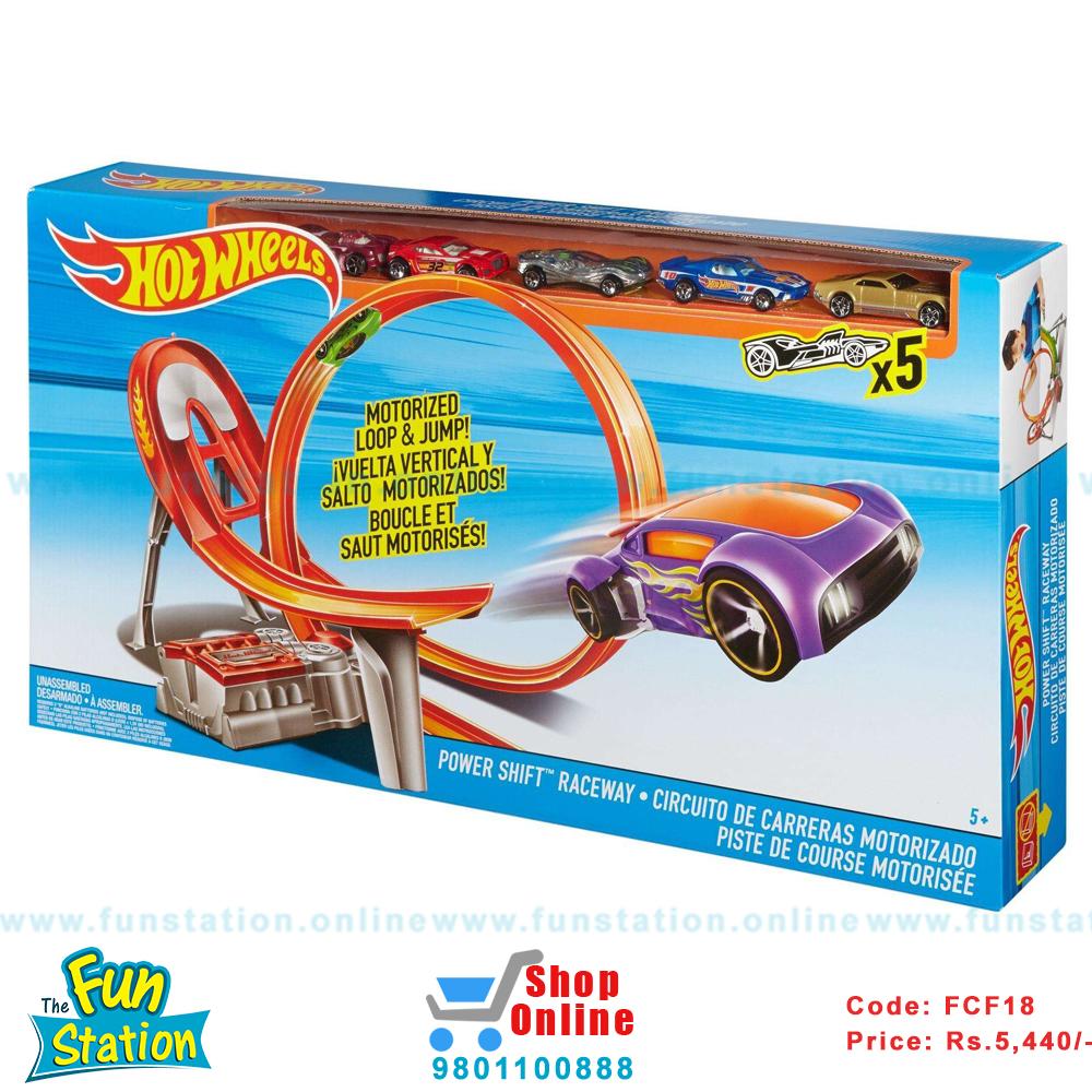 Circuito Hot Wheels : Buy hot wheels power shift raceway track set at funstation shop